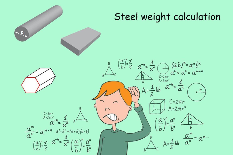 Stahl Gewichtsberechnung