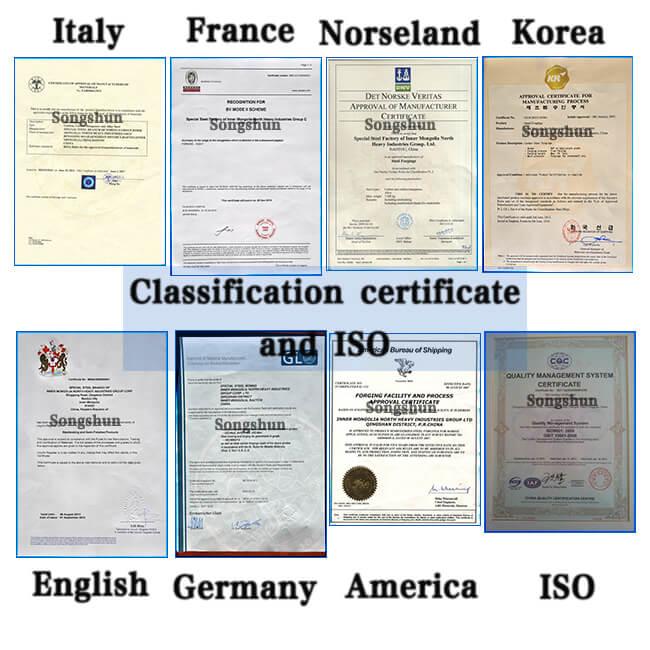 Stahl-Zertifizierungen